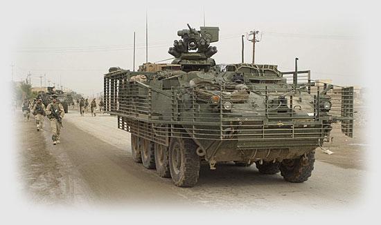 1 - Stryker by Spc. Clinton Tarzia.