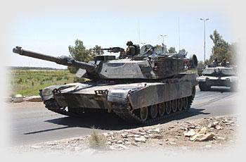 2 - M1 Abrams by Staff Sgt. Klaus Baesu.