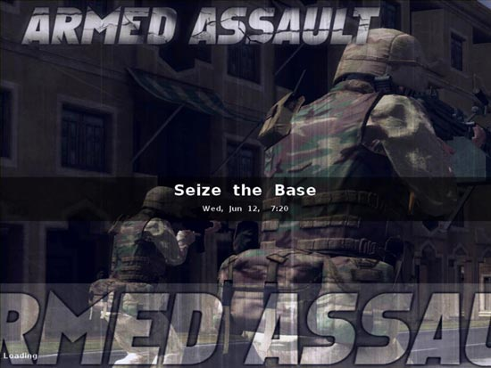Armed Assault: The first multiplayer mission.