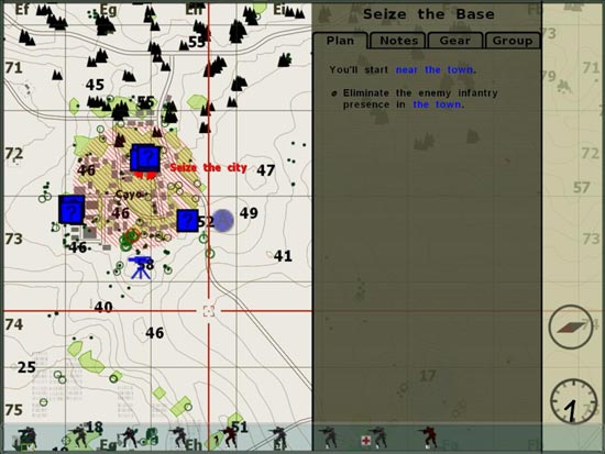 Armed Assault: I take a look at the map.