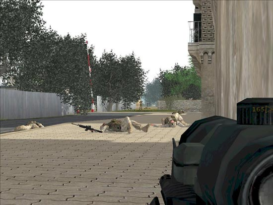 Armed Assault: The enemy is faster.