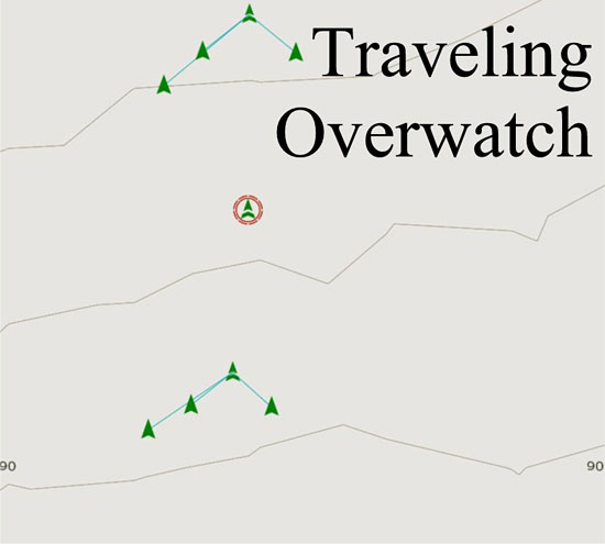 Traveling Overwatch Movement