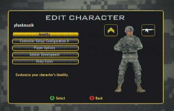 Edit Character