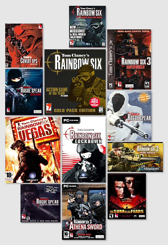 A decade of Rainbow Six