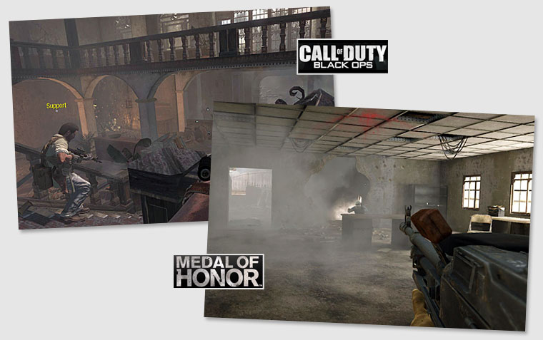 Medal of Honor vs. Call of Duty: Black Ops