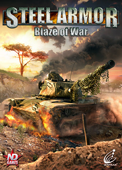 Steel Armor: Blaze of War package shot