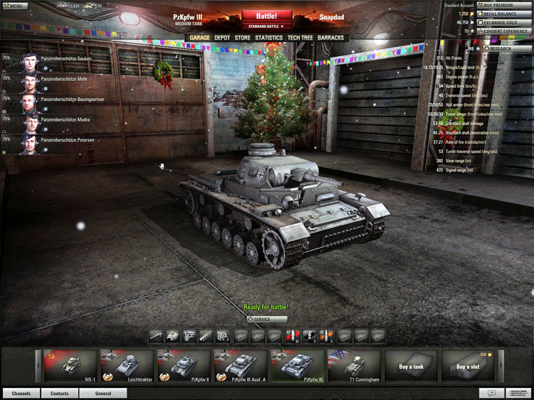 World Of Tanks - Ready for Battle