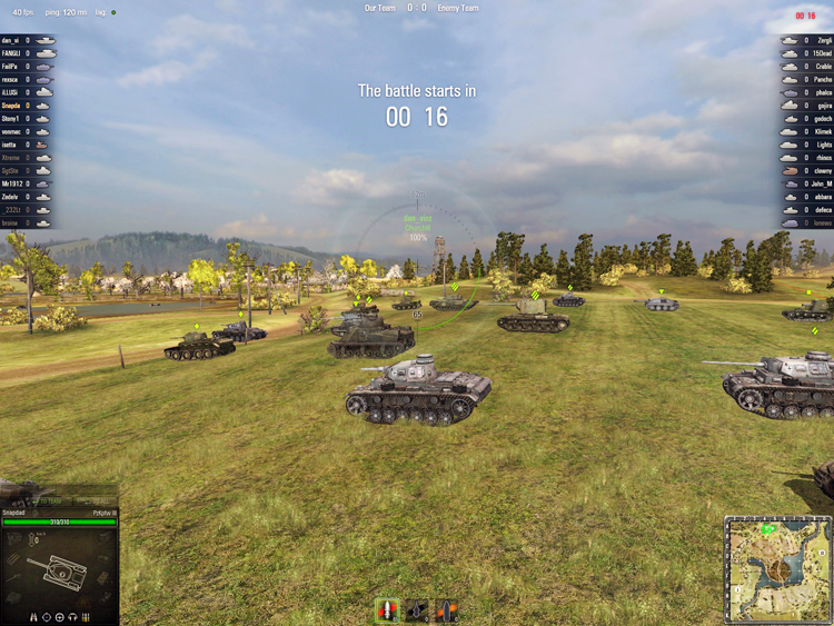 World Of Tanks - Beginning the Battle