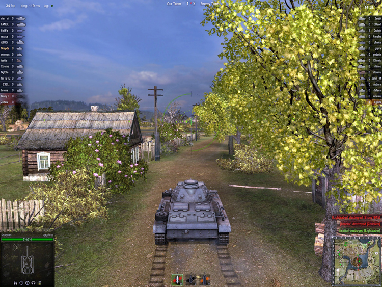 World Of Tanks - Sunday Drive