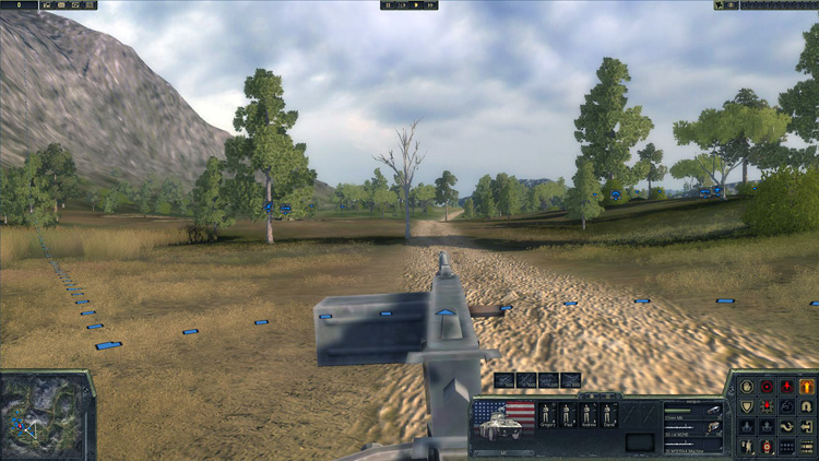 Theatre of War 3: Korea - First person view