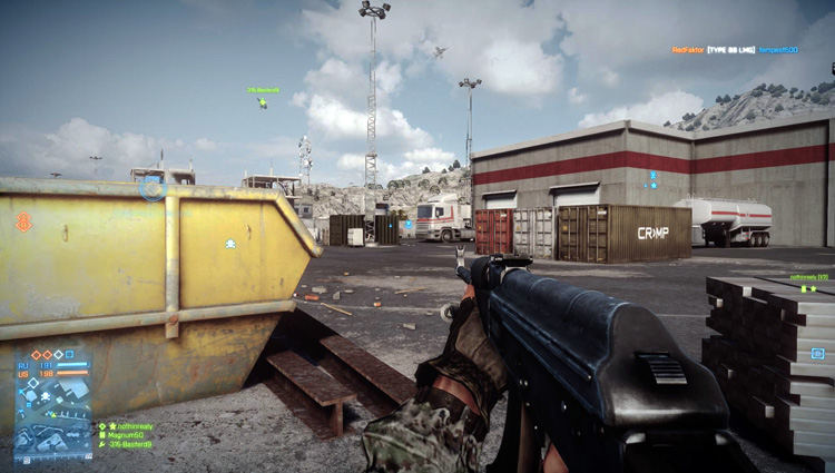 Battlefield 3 - PC gameplay