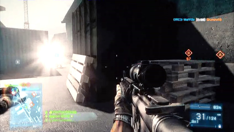 Battlefield 3 - Xbox 360 gameplay