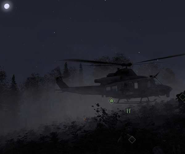 how to give helicopter targets in battlefield 4 ps4