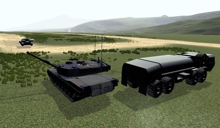 America's Armor Sim Project