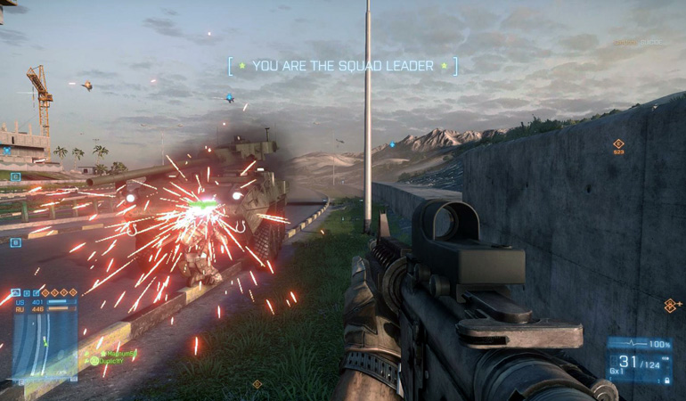 Battlefield 3 rumbled along with new DLC content