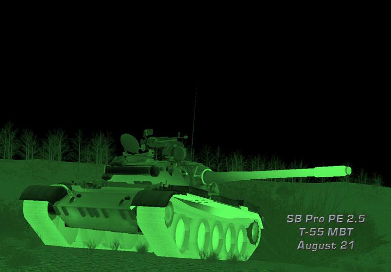 T-55 MBT