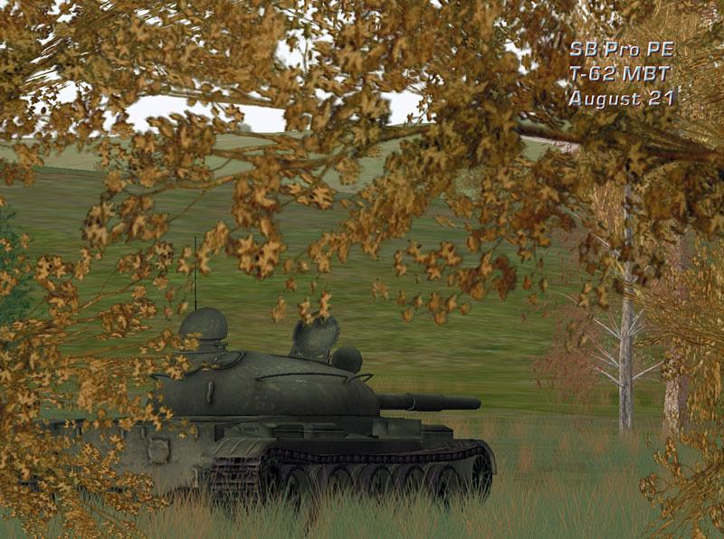 T-62 MBT