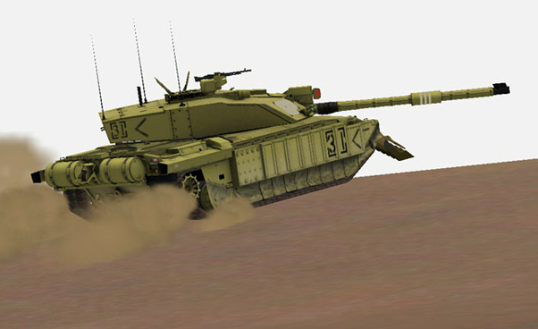 Steel Beasts - The New British Challenger Tank