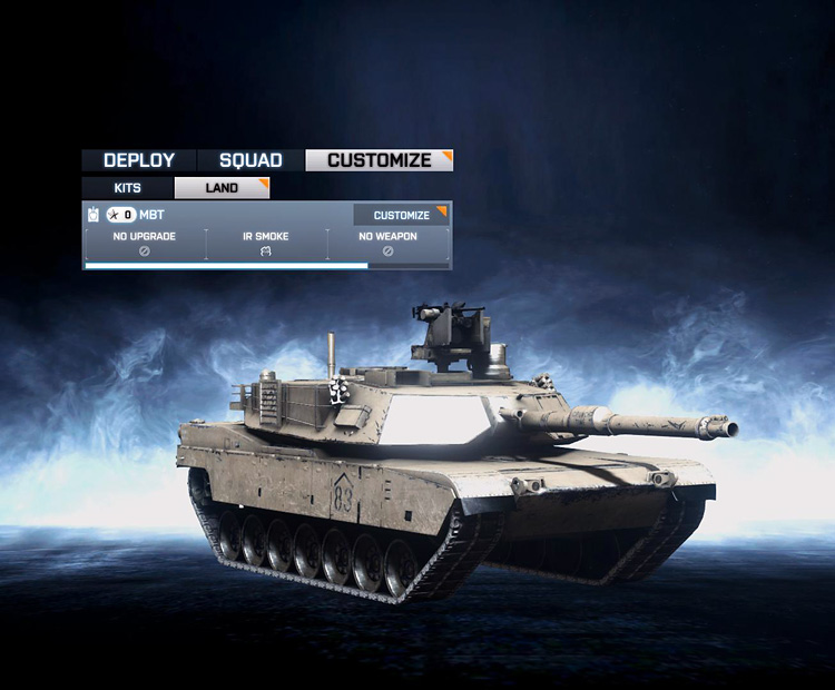 The Battlefield 3 MBT