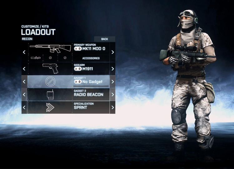 Recon Role in Battlefield 3