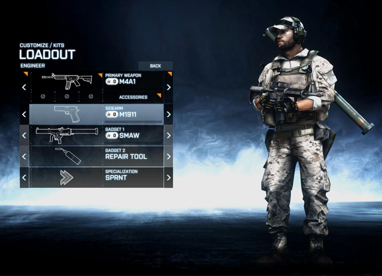 Engineer Role in Battlefield 3