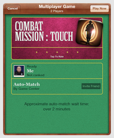 Combat Mission: Touch - Multiplayer