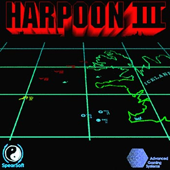Figure 2 - The WWIII Battleset is made for the Harpoon3 game