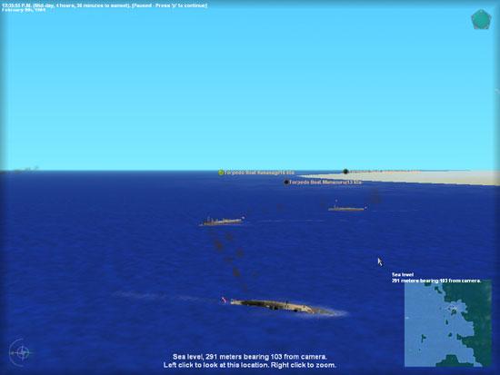 torpedo boat sink