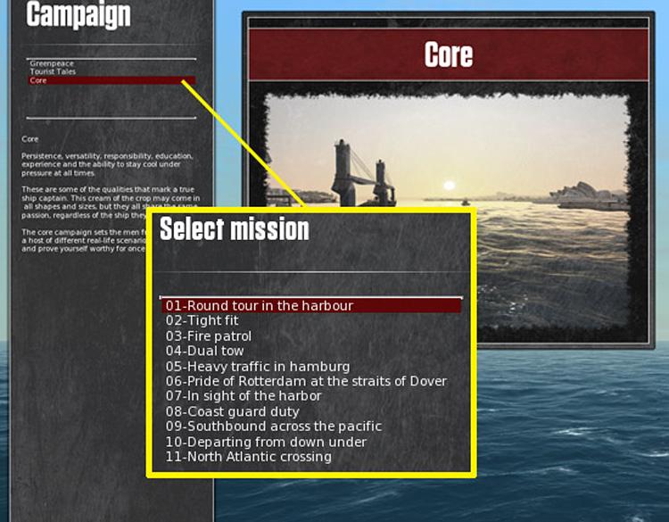 Ship Simulator Extremes - Campaign