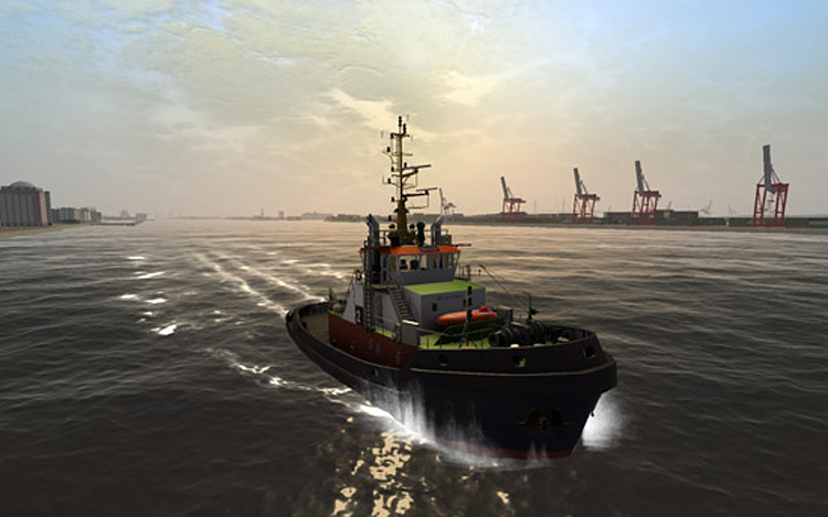 Ship Simulator Extremes - Nice Graphics