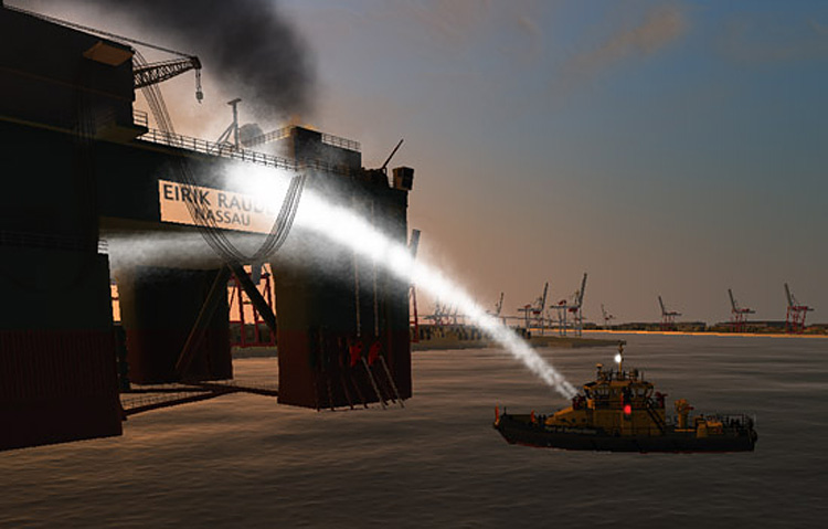 Ship Simulator Extremes - Fire Control