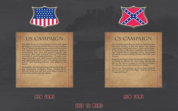 Campaign Menu