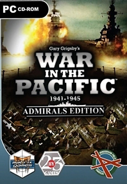 Package for War in the Pacific: Admiral's Edition