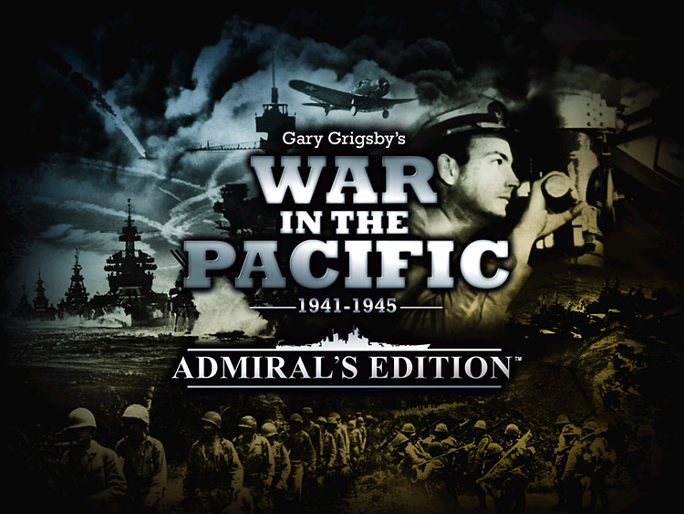 Title Screen - War in the Pacific: Admiral's Edition