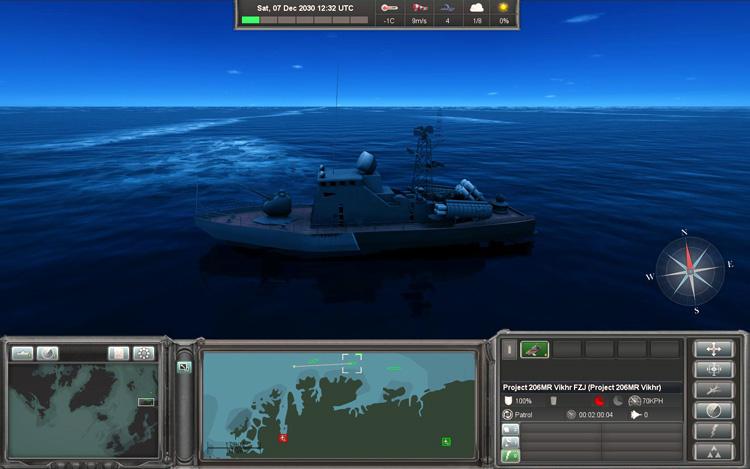 Naval War: Arctic Circle - Patrol