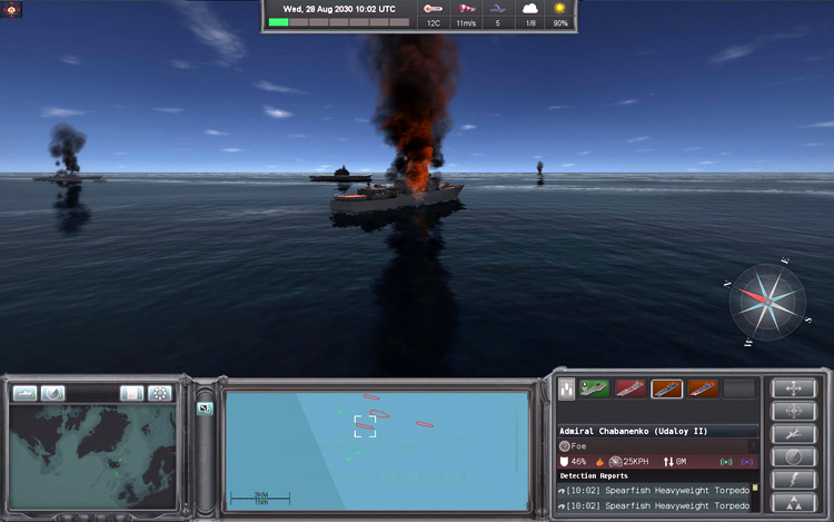 Naval War: Arctic Circle - Damage