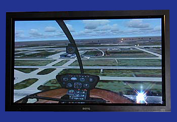 A copter view from Flight Simulator 2004