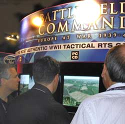 Hornit and guod are shown Battlefield Command.