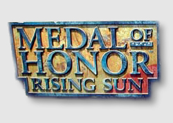 EA's Medal of Honor Rising Sun - for console first.