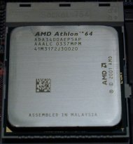 AMD Athlon 64 3400+ processor at 2.20GHz