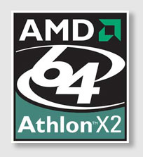 AMD Athlon™ 64 X2 4800+ logo