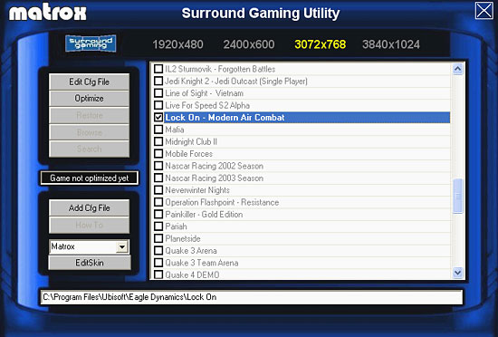 Surround Gaming Utility (SGU)