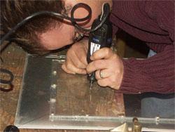 Marking the Fan Hole