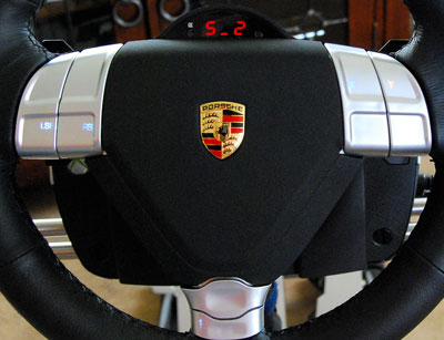 simhq review the fanatec porsche 911 turbo s wheel and clubsport pedals. Black Bedroom Furniture Sets. Home Design Ideas