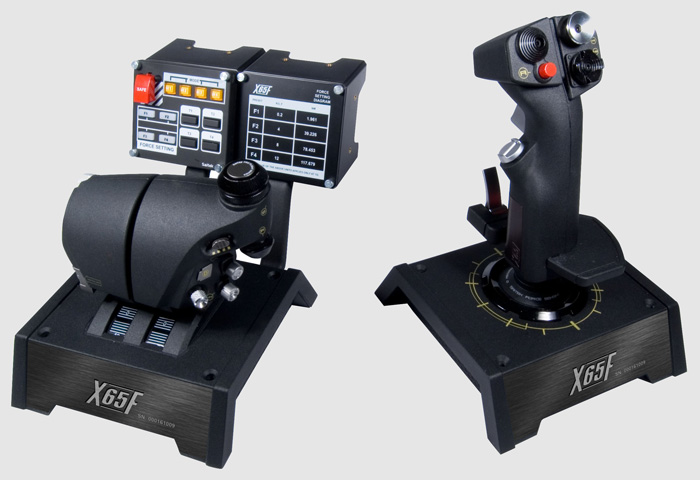 Saitek X-65F Pro Flight Combat Control System