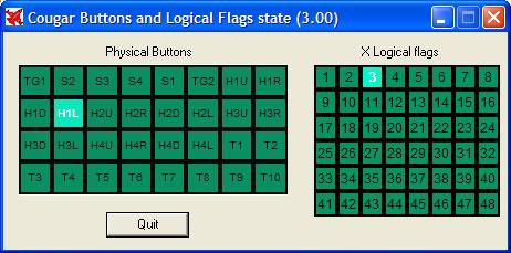 Foxy logical flag viewer.