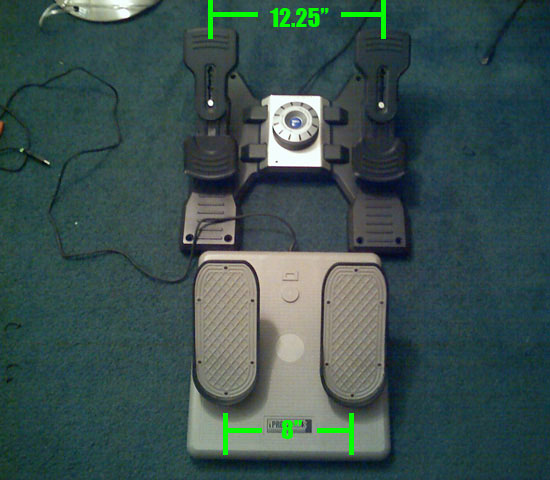Review: Saitek X52 PRO HOTAS and the Saitek Rudder Pedals