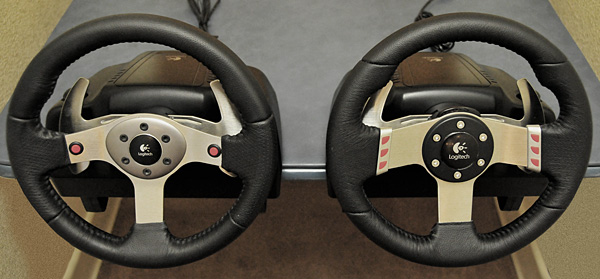 The Logitech G25 and G27 Racing Controllers