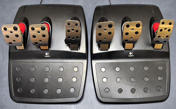 G25 and G27 Pedals 