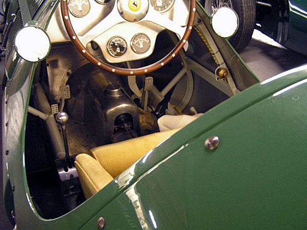 Pre-war pedal configuration.